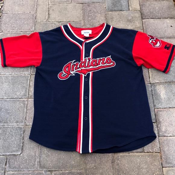 """STARTER Other - Vintage Starter """"Cleveland Indians"""" Jersey"""